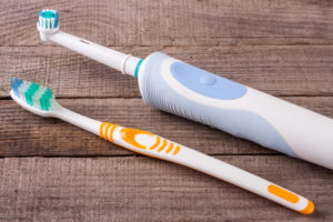 electric and manual toothbrushes